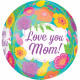 Orbz HMD Tropical Flowers foil balloon packed 38