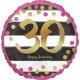 Standard 'Pink & Gold Milestone 30' Fo