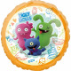 Standard HX Ugly Dolls foil balloon packed