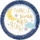 8 Tányér Twinkle Little Star 27 cm