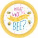 8 Tányér Mi lesz a méhében? 27 cm