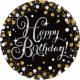 8 plate Happy Birthday Sparkling Celebrations - S