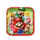 8 Talerz Super Mario, kwadrat 18 x 18 cm