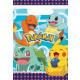 8 party táska Pokemon műanyag