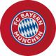 8 plato FC Bayern Munich papel 23 cm