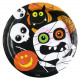 8 plate Halloween Kids 23 cm