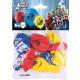 6 ballons en latex Avengers 22,8 cm