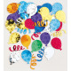 Confetti party balloons multicolored 14 g