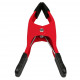 Spring clamp 5.5'' red + iso discount