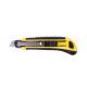 Cutter knife profi yellow