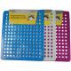 Sink mat pvc square mix colors