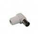 Coax plug hooks female