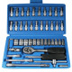 Socket set 46 pieces satin-f benson