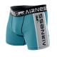 Boxershorts Mann, blau / grau cl Duo