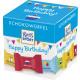 Ritter Sport chocolate cube birthday176g box