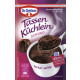 Dr.Oetker cup cake chocolate 55g