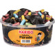 Haribo licorice parade round can 1kg tin