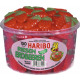 Haribo giant strawberries fruit gum 150 st can
