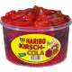 haribo cherry cola 150 pcs. tin