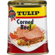 tulip corned beef 340g can