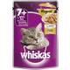 Whiskas 7 + ragout poultry85g pb bag