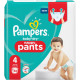 Pampers baby dry pants size 4 32