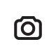 RS Men's Nappy knit cap black, with colored Na