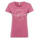 T-Shirt Roadsign rond, mauve, taille L