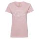 Ladies Roadsign T-Shirt round Roadsign , rose, siz