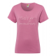 T-Shirt with embroidery, mauve