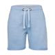 Pantaloncini da donna, melange azzurri, taglia XL