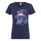 Ladies T-Shirt Paradise, navy