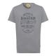 Men's T-Shirt Keep the Spirit, gray, round nec