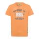 T-Shirt Homme R85, orange, col rond