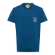 T-Shirt Roadsign Pocket, bleu, taille M
