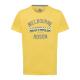 T-Shirt Melbourne, jaune, col rond