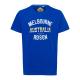 Herren T-Shirt Melbourne, royal, Rundhals