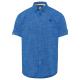 Herren Kurzarmhemd Citylife, blau