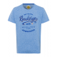 Men's T-Shirt Down Under, royal, round neck