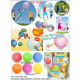 Diversión bola del brillo de globo - en la Display