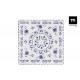 set of 6 plate plain 24cm blur elite gloss