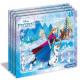 Puzzle 15 keret elem - frozen