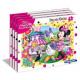 Puzzle con 15 elementi del telaio Minnie aiutanti