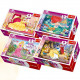 54 Mini Puzzles - Princess clubs