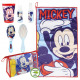 MICKEY - travel set toiletbag, blue