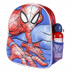 SPIDERMAN - kids backpack 3d con accesorios, red