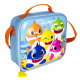 BABY SHARK - lunch bag 3d thermal lunchbag, blue