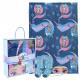 FROZEN - blanket gift set elsa, blue