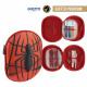 Spiderman - astuccio per matite triplo 3d, rosso