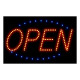 LED Sign Open; Red Blue
